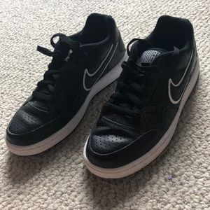 Nike black Air Forces women's